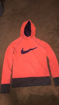 Pink and purple and grey Nike hoodie Calgary, T1Y 2Z1