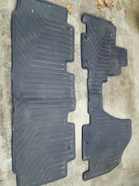 Honda Odyssey floor mats, front and back