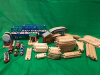 Thomas the train wooden track and accessories Springfield, 22153