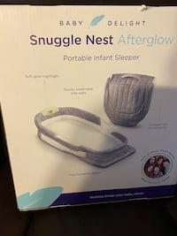 Snuggle Nest Afterglow Portable Infant Sleeper