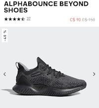 Adidas Alpha Bounce Running Shoes St Catharines, L2R 2T3