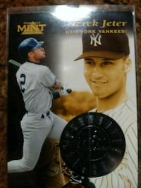 97 Pinnacle. Derek Jeter San Antonio, 78223