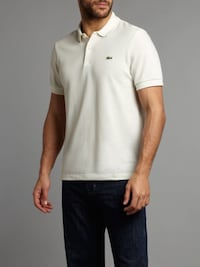 NEW! (W/ Tags) Cream Lacoste polo shirt Germantown, 20874