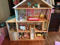 white and pink doll house North Bethesda
