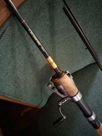black and gray fishing rod Montebello, 90640