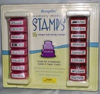 16 Self-Inking Stamps Scrapbook Craft Calgary, T3J 0H5