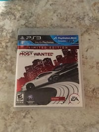 PS3 Need for Speed Most Wanted Lake Country, V4V 2R1