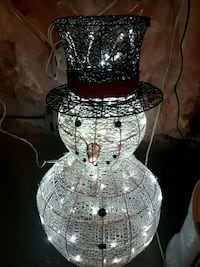 snow man strip light  decor