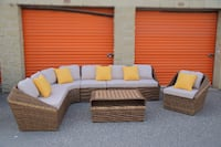 Brand NEW Exclusive Wicker Rattan SOFA Set TORONTO