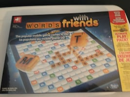 BNIB Words With Friends board game
