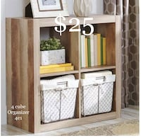 New 4 cube Organizer  Dallas, 75228