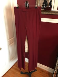Zara wine red wide leg pants size small Oakville, L6H 1Y4