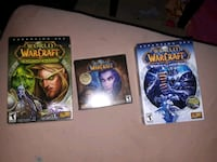 World of warcraft 5 disc and 2 extension packs  Edmonton, T6K 2Y2
