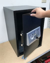 "New $80 Large 14""x14""x20"" Digital Security Safe Box Electric Keypad Lock w/ Master Key 2259 mi"