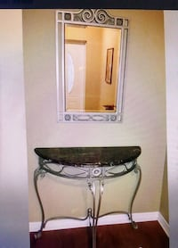 Entryway matching table/mirror Clearwater, 33764