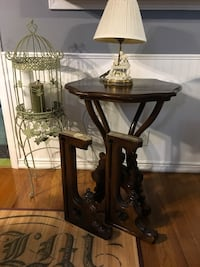 Read ad for Prices. Antique Corbels, Table, vanity lamp or Birdcage  Stockton, 95207