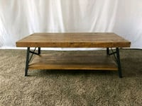 #1613 - Professionally Cleaned Rustic Coffee Table Oregon City, 97045