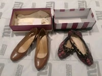 Shoes for women size10 both for $10 Olney