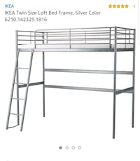 Twin Size Loft Bed  Toronto