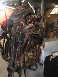 Black and brown camouflage backpack Vaughan, L4L 5B5