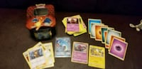 pokemon cards Hidden fates 61 cards, GX and storage tin GREAT FOR KIDS Toronto, M9W 6L4