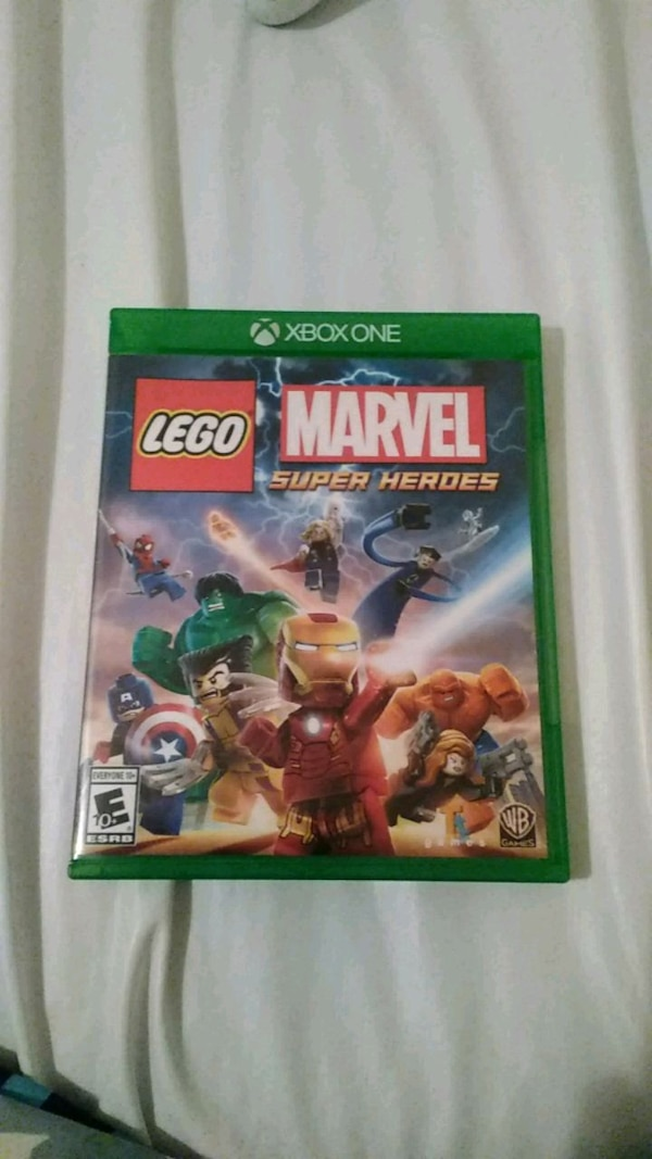 Used Lego Marvel Super Heroes Xbox One Game Case For Sale In