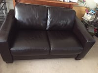 Brown leather couches with ottoman Oakville, L6L 3K3
