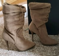 like new tan suede boots 7 Edmonton, T5G 2T6