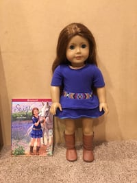 American girl doll saige with book Stilwell, 66085