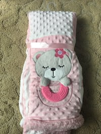 Baby Girl's Tummy Time Blanket