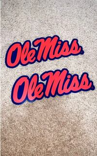 Ole Miss Decal Stickers