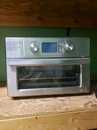 Air toaster oven/fryer
