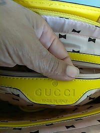 yellow and white leather Gucci handbag Columbia, 21044