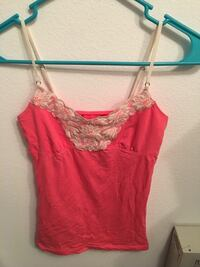 women's red spaghetti strap top Las Vegas, 89119