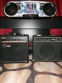 Amps and Sony sound speaker  system with aux