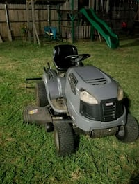gray and black ride-on mower Fort Worth, 76108