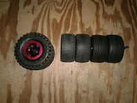 RC WHEELS AND TIRES 1/10 SCALE