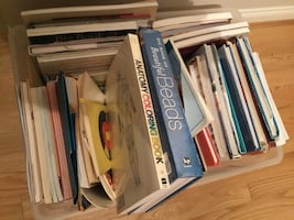 Sewing and craft books!