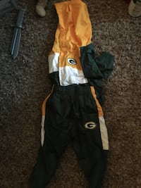 18 months Green Bay Packers wind suit