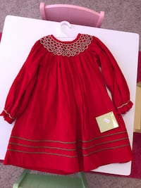 NWT 2T, New never worn, Zuccini,  Red Christmas dress, Paid $60, make offer Lafayette