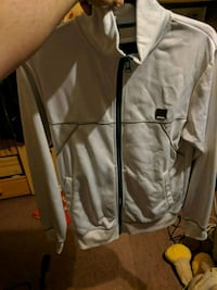 Bench white and green jacket sz s  Surrey, V3R 9M8
