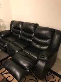 Leather sofa from Ashley Furniture. Price is negotiable