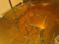 two brown wooden side tables Tyler, 75701