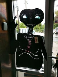 ET window decal, local artist Asheville, 28803