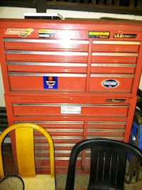 red and gray us general tool cabinet Denver, 80220