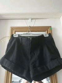 Thick cuffed shorts (dark grey) 536 km