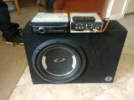 clarion stereo system