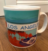 NEW Unused STARBUCKS Los Angeles Mug Collectable Richmond