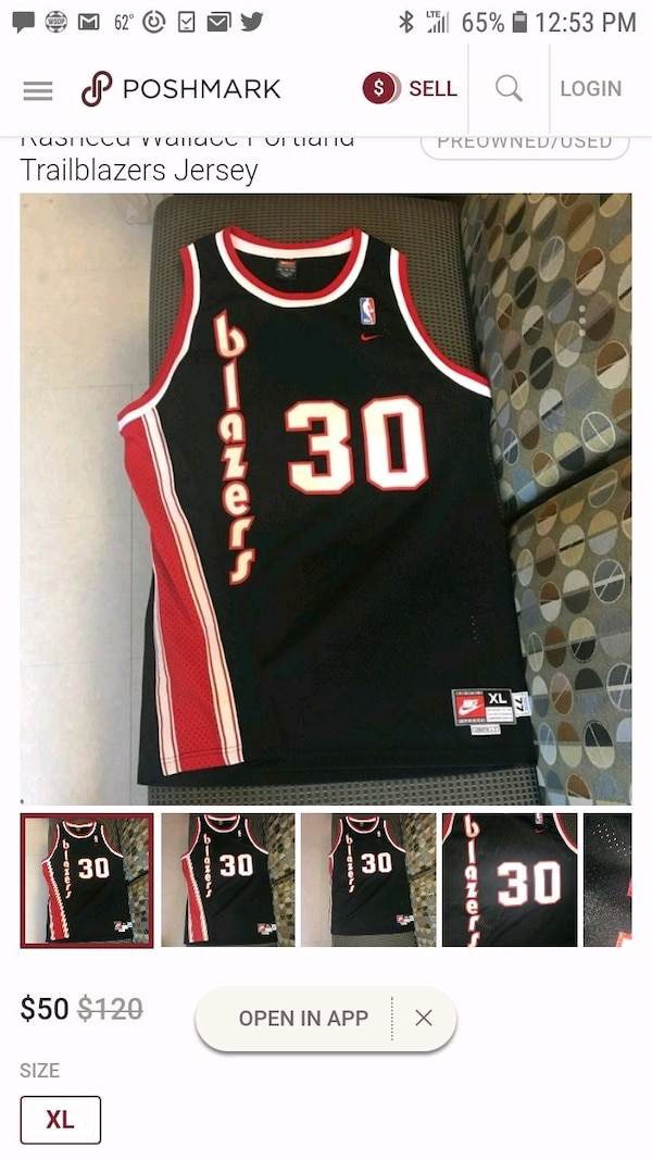 c659ecf81db Used black and red basketball jersey for sale in Los Angeles - letgo
