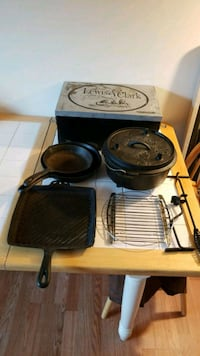 Camp Chef Lewis & Clark Cast Iron Cookware Frederick, 21702